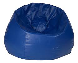 ace casual furniture jumbo 132 inch bean bag chair in blue the