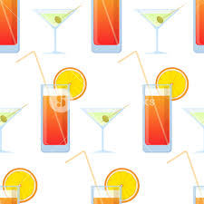 martini clip art vector seamless texture with cocktails and martini royalty free