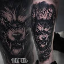 collection of 25 wolf on biceps