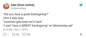 thanksgiving tweets 27 famepace