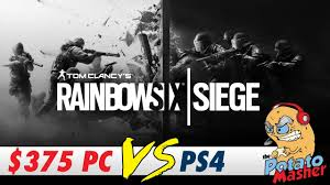 comparaison siege auto can a 375 computer play rainbow six siege pc vs ps4 rainbow