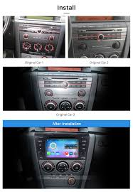mazda 3 2009 all in one android 6 0 2004 2009 mazda 3 radio upgrade with in