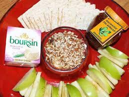 boursin cuisine food boursin cheese and fig jam spread recipe tahoedailytribune com