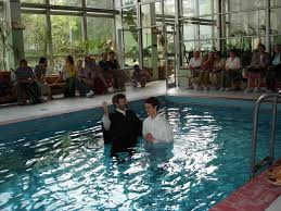 baptism pool should i get baptized