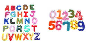 amazon great deals on wooden letters and numbers fridge magnets