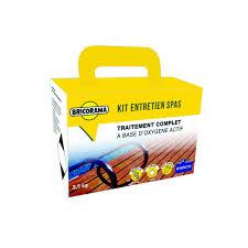 Kit Complet Panneau Japonais by Kit De 5 Produits Pour Spa Bricorama Accessoires U0026 Entretien Spa