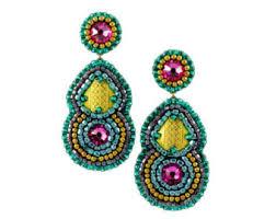 Chandelier Earrings Unique Chandelier Earrings Mint Earrings Mint Peach Coral Chandelier Earrings Bridal