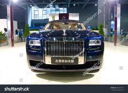 phantom ghost car guangzhou china jul 29 rolls royce stock photo 109337315