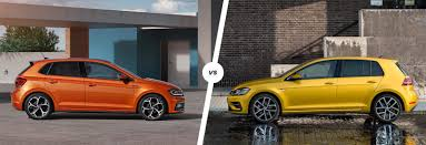 vw polo vs golf which hatchback is best carwow