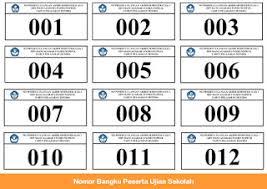 format absensi ujian denah tempat duduk peserta ujian sekolah operator sekolah excel