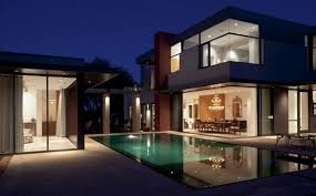 modern style house floor plan contemporary homes french style vila m austin house