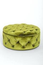 green storage ottoman with tray tag green storage ottoman