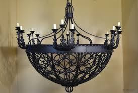 Wrought Iron Chandeliers Mexican Old Mexican Chandelier Spanish Chandelier Demejico