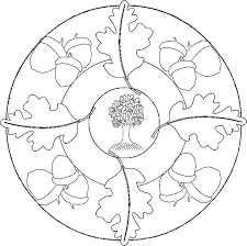 mandala coloring pages easy coloring home