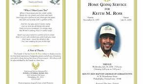 doc 621480 sample obituary program u2013 funeral program examples