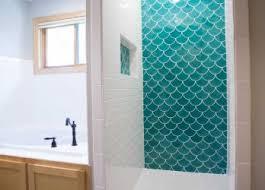 bathroom black white teal ideas tile images light paint astounding