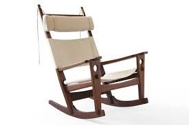 Oak Rocking Chairs Hans Wegner Getama Ge 673 Keyhole Oak Rocking Chair Danish Modern