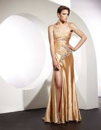 one shoulder wedding dresses 2011 terani prom dress 123 gold one shoulder pageant evening gown