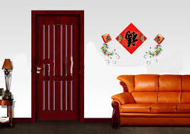 chinese new year home decoration chinese new year red reversed happiness spring festival decal