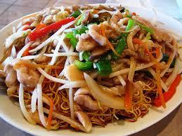cuisine asiatique recette recette nouilles chinoises poulet légumes recette nouille chinoise