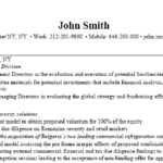 Investment Banking Resume Sample by Investment Recentresumes Com