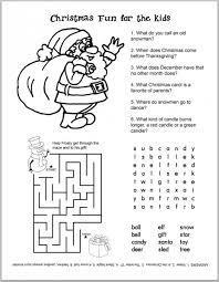 christmas printable worksheets lizardmedia co
