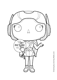 lemon hero coloring page for kids printable free big hero 6