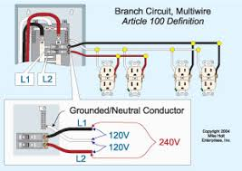 image result for multiwire branch circuit diagram kitchen