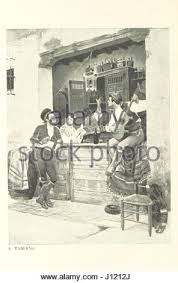 the land of the castanet spanish sketches illustrated stock