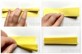 how to make a paper fan how to make a paper fan red ted art s blog