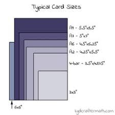 thank you card size card sizes and measurements guide stin up only