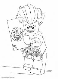 lego batman 3 coloring pages with joker