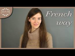 women of france hair styles french makeup hair parisian chic justine leconte youtube