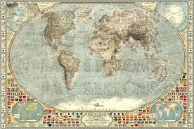 World Map Prints by The World 1875 By Jaysimons On Deviantart