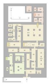 file saqqara mastaba of mereruka floor plan main floor only svg