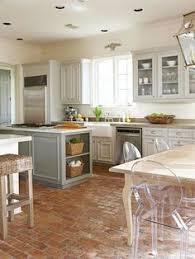 Gray Kitchen Floor by A Modern Farmhouse Kitchen Farmhouse Sinks Terra Cotta And Wall