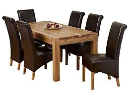 Solid Oak Dining Table Set 1home Dining Table Set New 100 Solid Oak Dining Room Furniture
