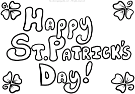 coloring pages leprechaun mushroom holidays st patrick u0027s day
