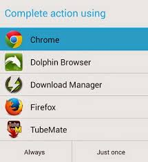android file associations change file associations or default launching app in android