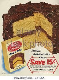 1950s usa betty crocker magazine advert stock photo royalty free