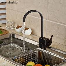Online Get Cheap Rubbed Oil Bronze Kitchen Faucet Aliexpresscom - Bronze kitchen sink faucets
