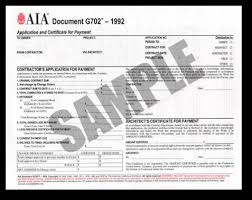 Aia G702 Excel Template Aia Invoice Template Free Invoice Template