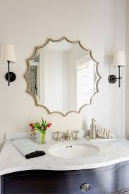 Elegant Decorative Bathroom Mirrors For Intended Bathrooms Plans