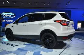 Ford Escape Black - refreshed 2017 ford escape is just what the customer ordered