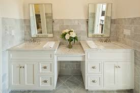 Double Vanity Mirrors For Bathroom by Bathroom Mirrors Contemporary Bathroom Contemporary With Double