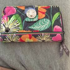 bloom wallet 75 vera bradley handbags turn lock wallet vera bradley