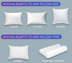 Most Comfortable Pillow In The World Moona Pillow Temperature Regulation To Improve Sleep By Moona