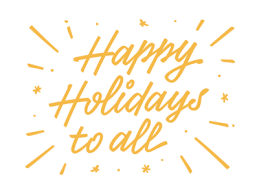 happy holidays by bell dribbble