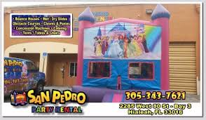 party rental hialeah party rental en hialeah tables chairs tent bounce house
