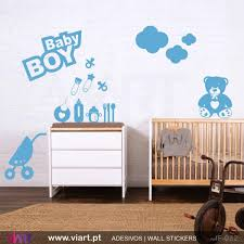 Nursery Decor Stickers 54 Wall Stickers For Baby Boy Room New Listing Baby Room Wall